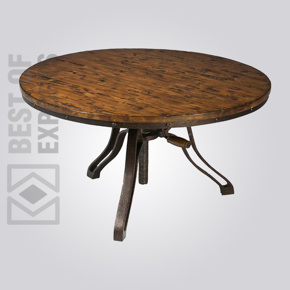 Industrial Adjustable Coffee Table Best Of Exports