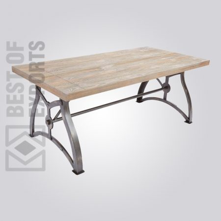 industrial dining table, vintage industrial table, industrial dining table and chairs, rustic metal and wood dining table, reclaimed wood and metal dining table, Modern Industrial Dining Room Sets