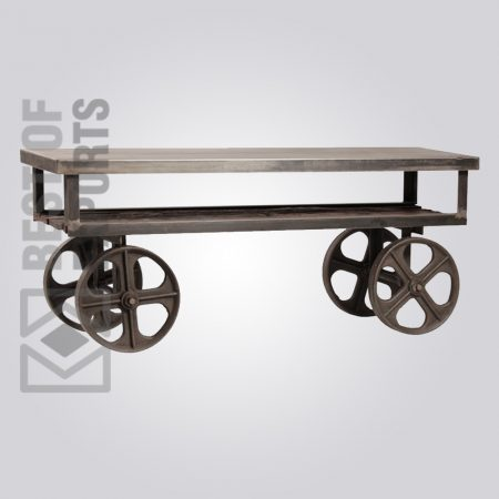 Media Cabinet With Wheel