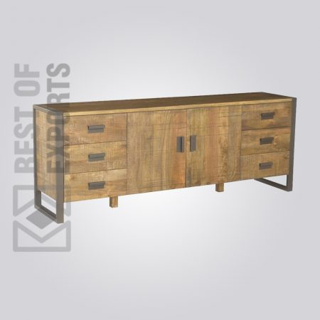 Metal/Wood Sideboard