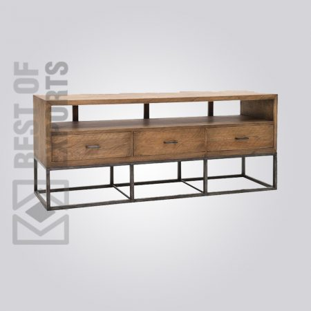 Industrial Media Cabinet, Industrial Media Storage, Industrial TV Stands, Industrial Modular Media Console, TV Media Stands, industrial metal media console, metal media cabinet, Media Cabinets & Storage, media console furniture