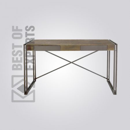 Metal/Wooden Console Table