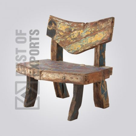 Antique Reclaimed Wood Chair