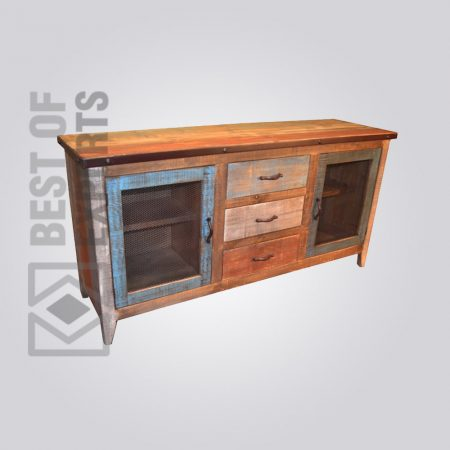 Reclaimed Wood Drawer Cabinet