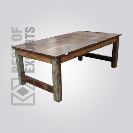 Elegant Reclaimed Wood Dining Table