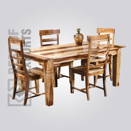 Pure Wooden Dining Table