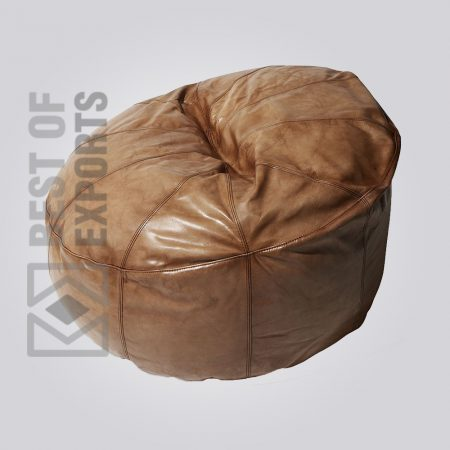 Upholstery Puff, Footstools & Pouffe's, Stools & Poufs, Modern Poufs, Leather pouf, Leather & Canvas Puff, Leather Puff Stools, leather pouf square, round leather pouf