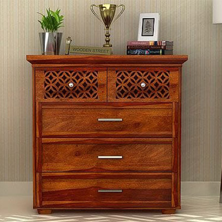 Solid Wooden Chest Drawers