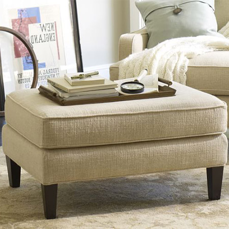 Upholstered Ottoman & Seaters